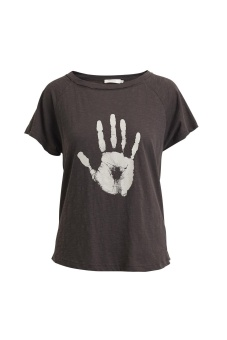 Rabens Saloner Filina Palm T-Shirt