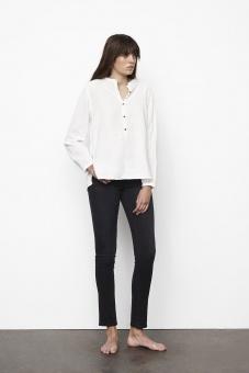 Rabens Saloner Abena Cotton Basic Shirt