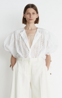 Rodebjer Breezee Embroidery Blus