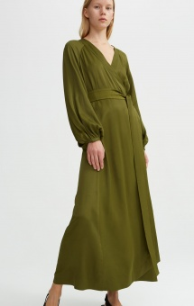 Rodebjer Khalida Dress Khaki Green