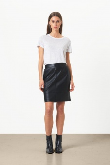 Second Female Francie Mini Leather Skirt