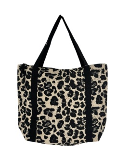 Black Colour Libby shopper