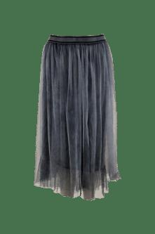Black Colour Kine Skirt Jeansblue