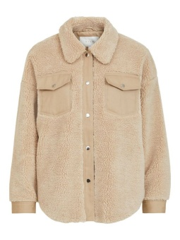 Vila Vimelusi Teddy Short Jacket
