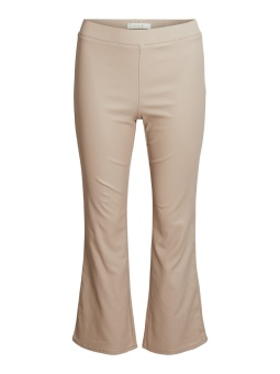 Vila Vicommit Coated cropped pants