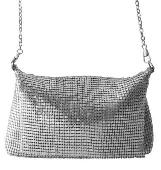 Wos Mesh Bag Silver