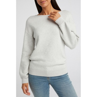 Yaya Comfy Boatneck Sweater