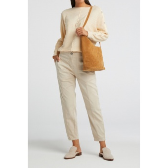 Yaya High waist worker trousers