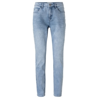 Yaya Medium Waist Boyfriend Denim
