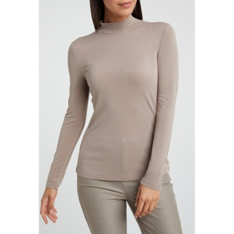 Yaya Modal Blend Top High Neck
