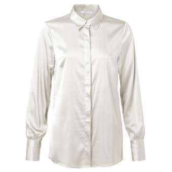 Yaya Satin Stretch Shirt