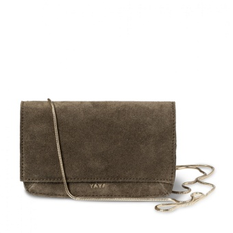 Yaya Rib Suede Mini Bag