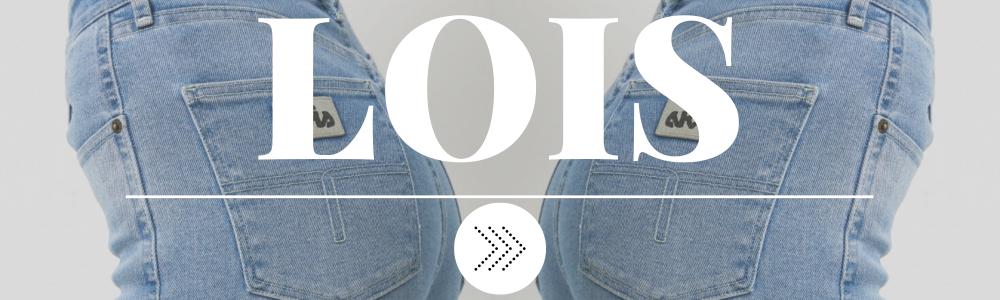 lois klassisk jeans från spanien