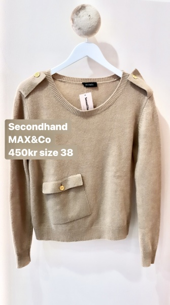 max & co  second hand