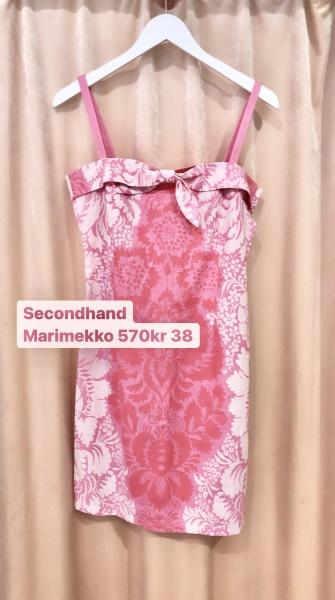 second hand mode kläder marimekko