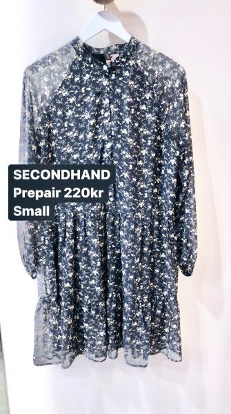 second hand klänning