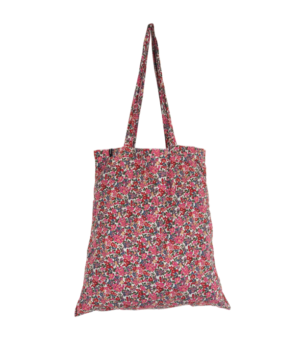Black Colour Lulu Blossom Shopper Bag