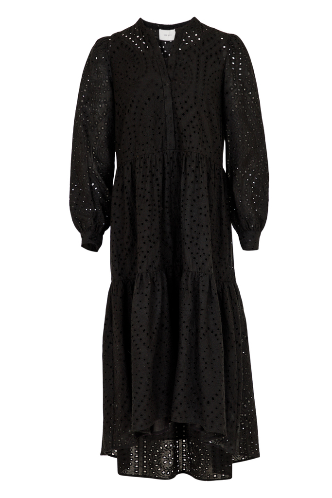 Neo Noir Caro Embroidery Dress