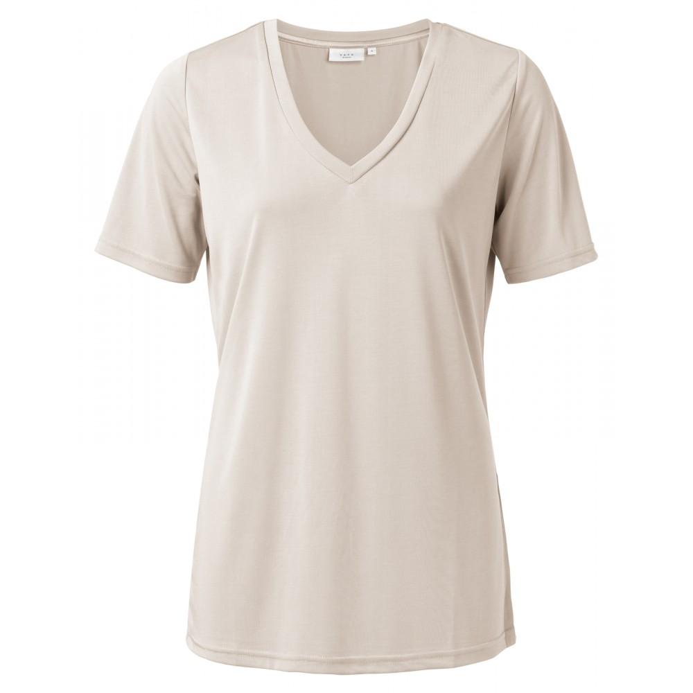 Yaya Modal V-neck T-shirt