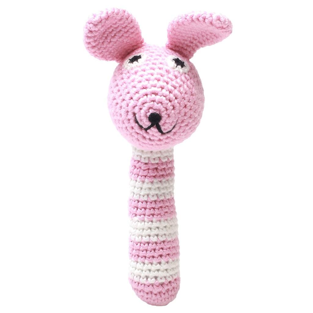 Skallra - Miss Rabbit (light pink)
