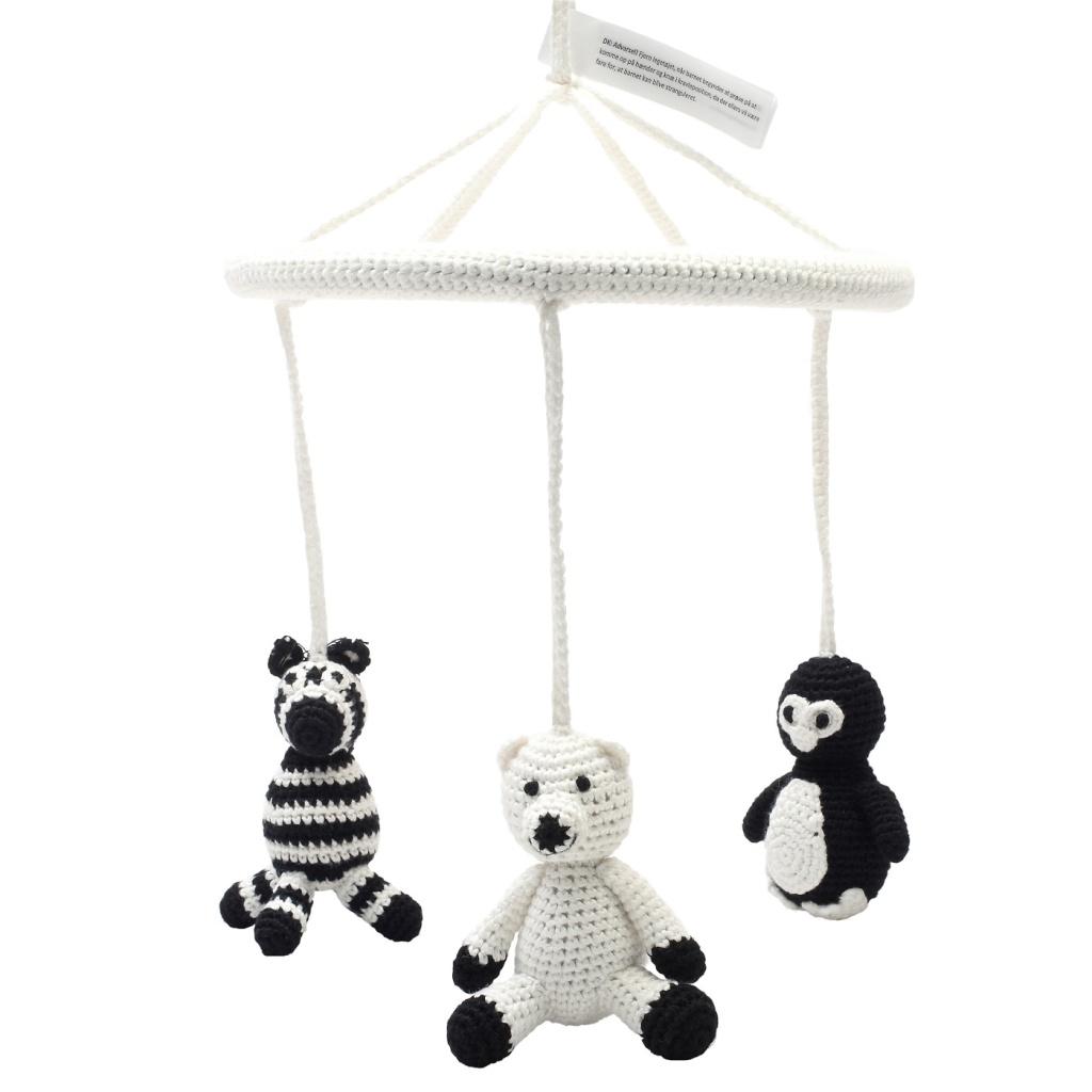 Mobil - Penguin, polarbear and zebra