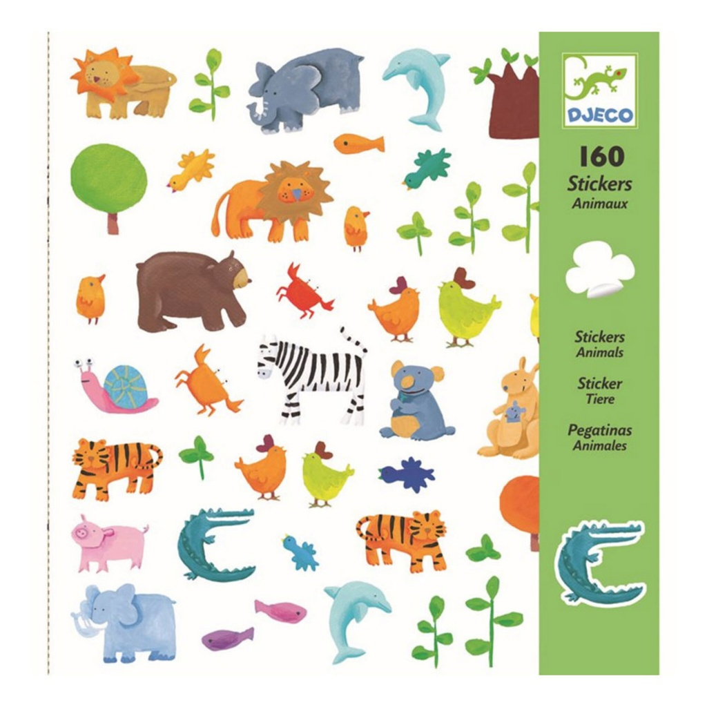 Klistermärken - Animals