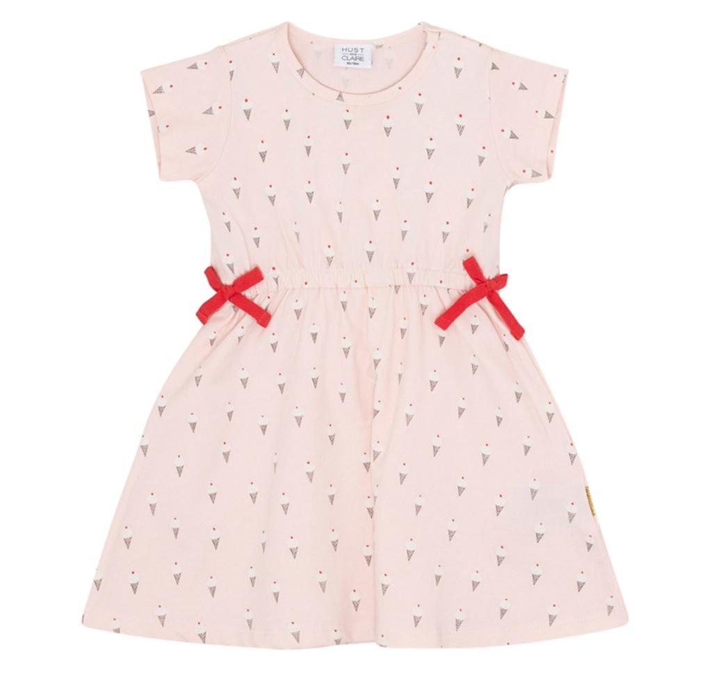 Klänning med glassar, Nude pink