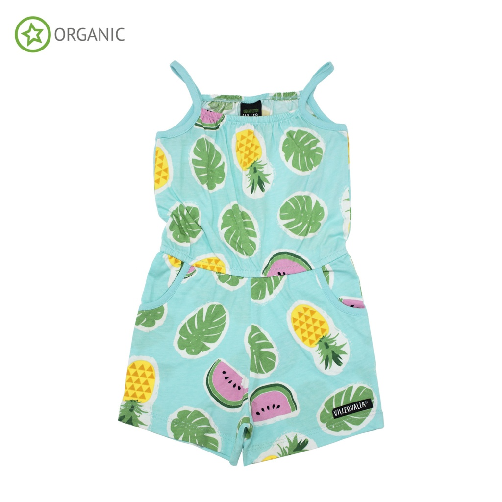 Jumpsuit Tropical Fruits Lgt Bay