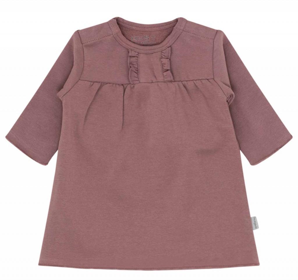 Babyklänning Plum