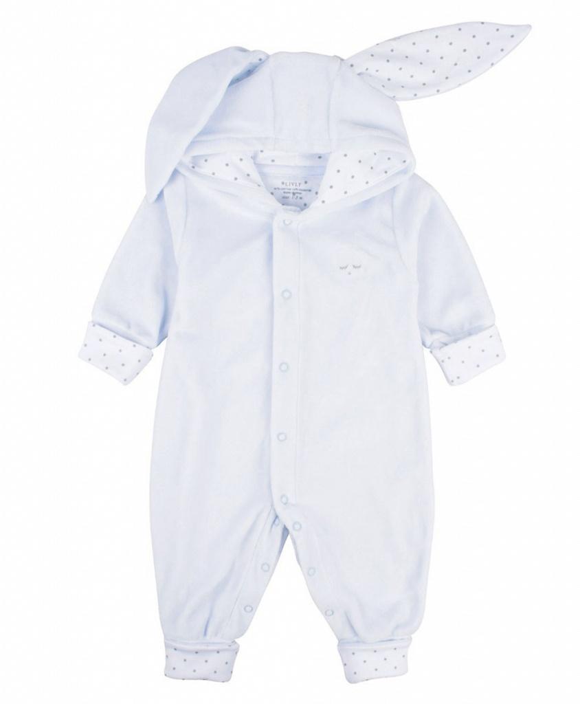 Overall Bunny ljusblå