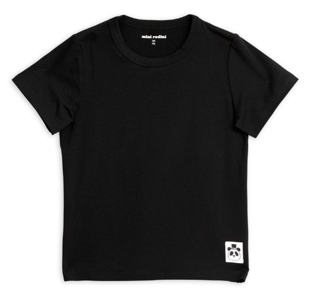 T-shirt Basic black (Tencel)