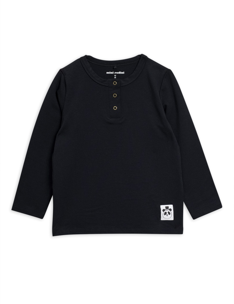 Tröja Basic grandpa black (Tencel)
