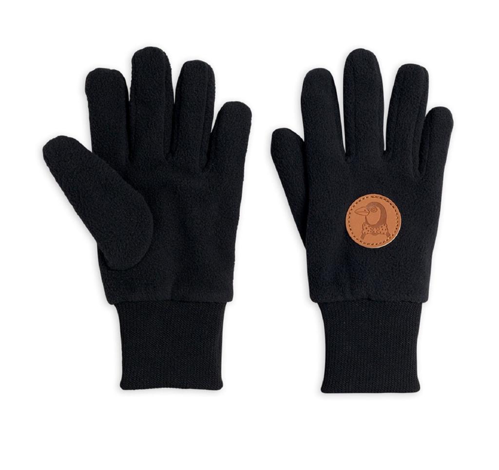 Fingervantar - Fleece gloves Black