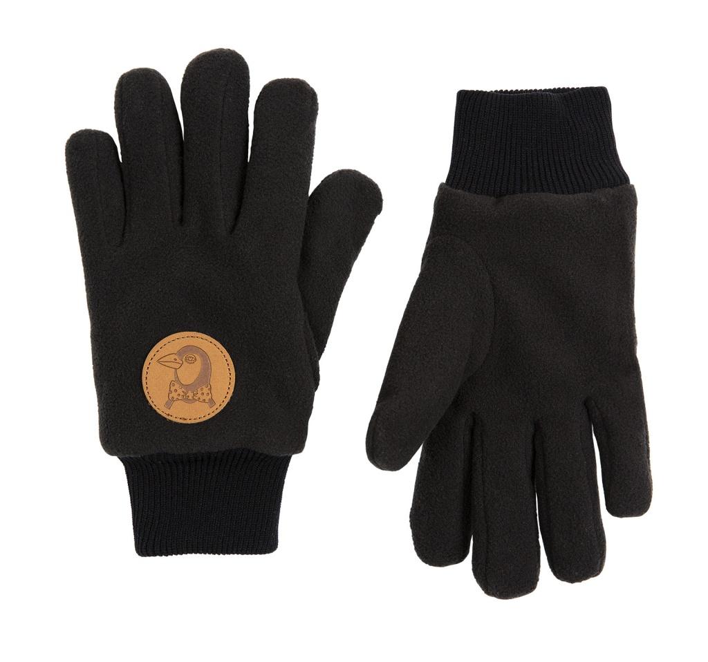 Fingervantar Fleece black