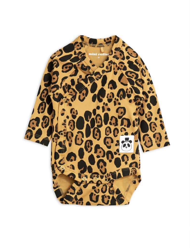 Body omlott Basic leopard (Tencel)