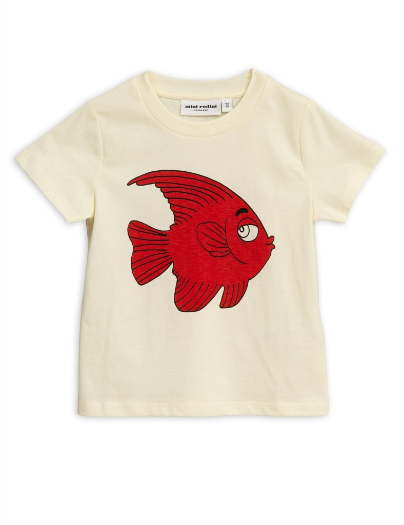 T-Shirt - Fish sp Offwhite