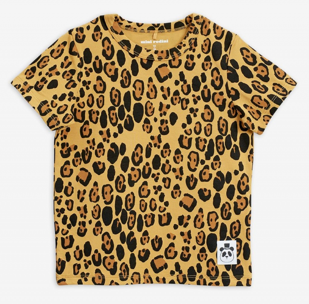 T-shirt Basic leopard (Tencel)