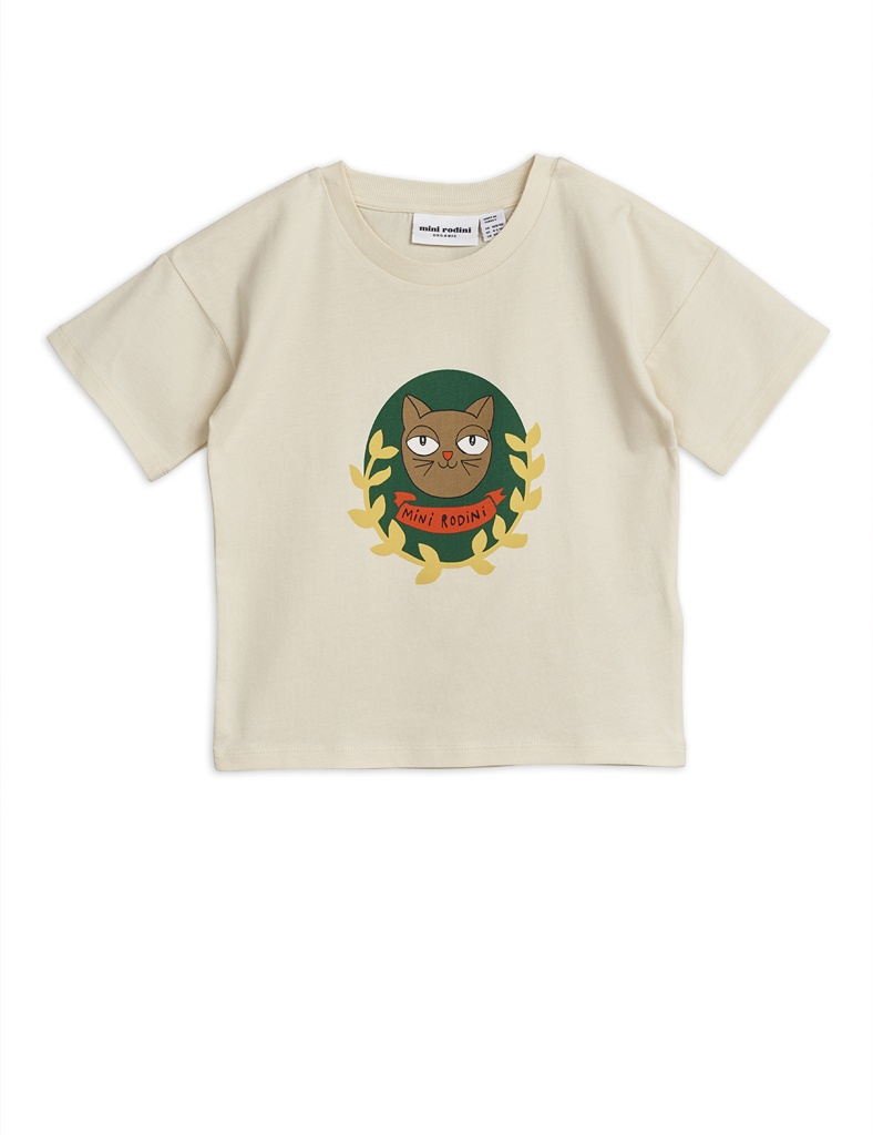 T-shirt - Cat badge ss tee