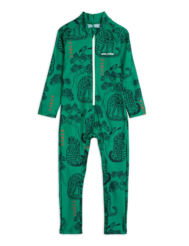 UV-Heldress - Tigers uv suit Green