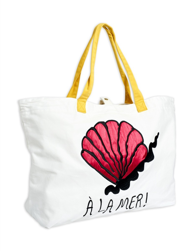 Väska - A La Mer beach bag Offwhite