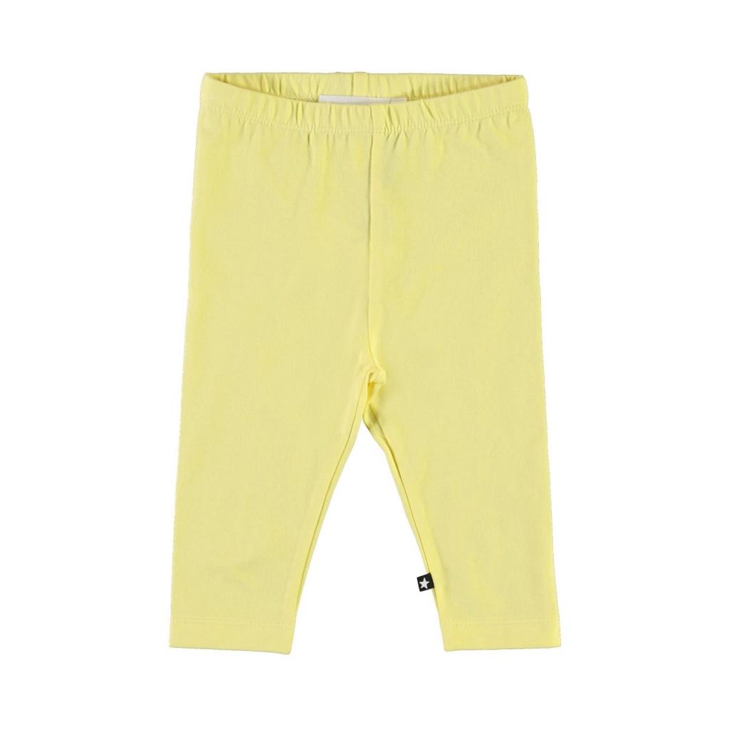 Leggings Nette solid Pale Lemon