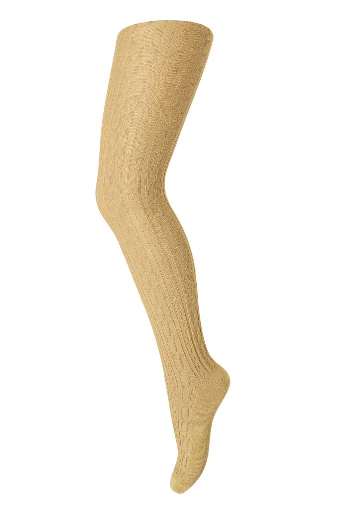 Strumpbyxa Twisted Pattern Bronce