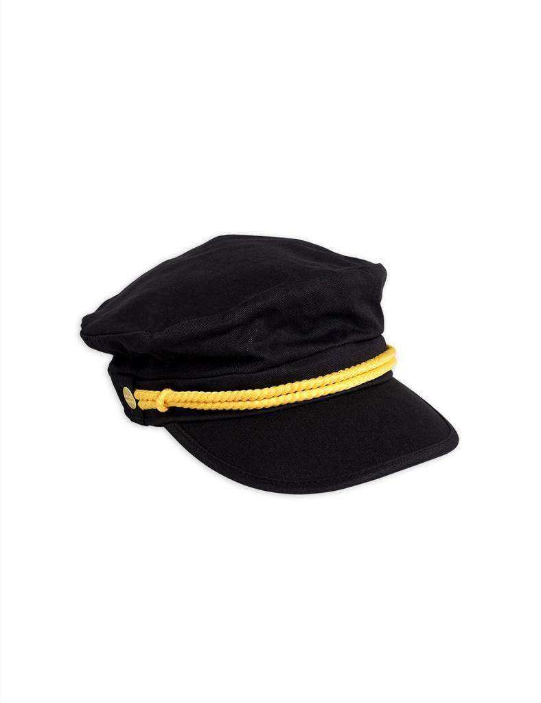 Keps - Skipper hat Black