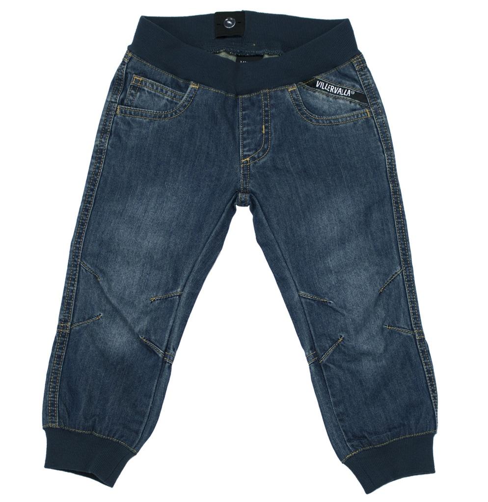 Byxa - fodrade jeans Denim midnight wash