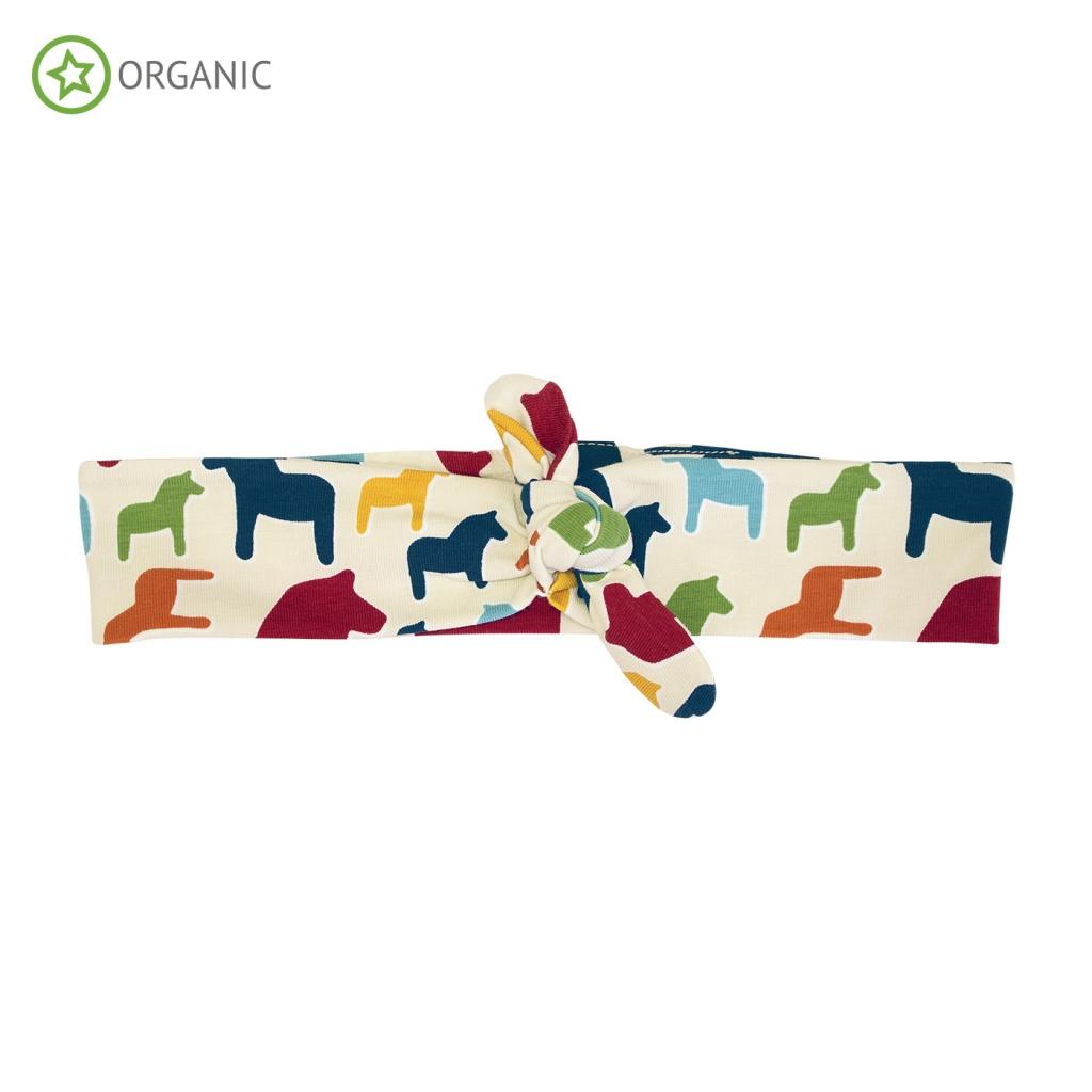 Pannband med knut Oat Dala Print