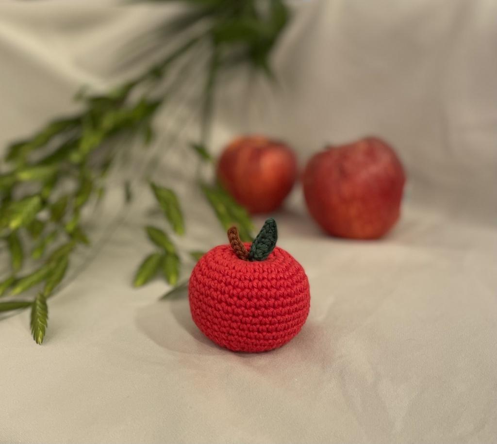 Äpple, virkad