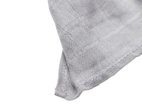 3-pack muslin grå/vit