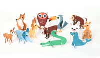 Pussel - Animal Parade 3D Puzzle