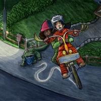 De vilda & den magiska cykeln