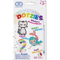 Diamond Dotz - sjöjungfru,enhörning och katt